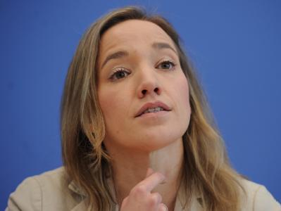 Bundesfamilienministerin Kristina Schröder. Foto: Hannibal