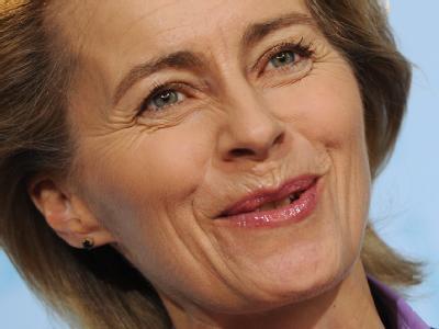 Siebenfache Mutter: Bundesarbeitsministerin Ursula von der Leyen. Foto: Hannibal
