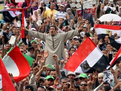 Proteste auf Tahrir-Platz