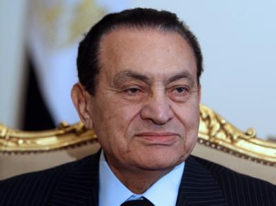 Fast 30 Jahre lang regierte Husni Mubarak Ägypten mit eiserner Hand. Foto: Khaled Elfiqi