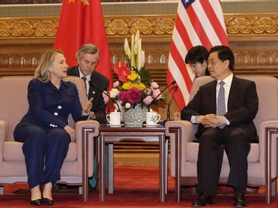 Clinton und Hu