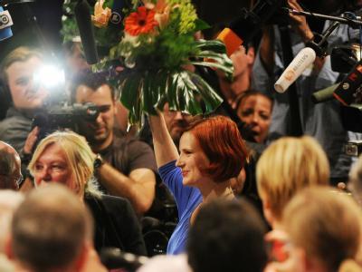 Katja Kipping ist neue Vorsitzende der Partei Die Linke. Foto: Julian Stratenschulte