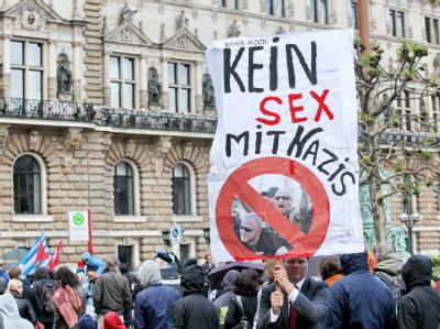 Demo gegen Neonazis