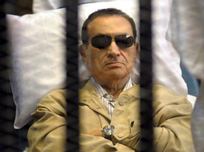 Das Urteil im Prozess gegen Ägyptens Ex-Präsident Mubarak und frühere Spitzen des Sicherheitsapparats ist für viele Menschen mehr als unbefriedigend. Foto: STR