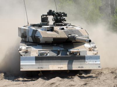Das Interesse der Saudis an deutschen Kampfpanzern ist ungebrochen. Foto: Krauss-Maffei Wegmann