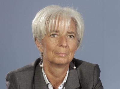 IMF-Chefin Christine Lagarde