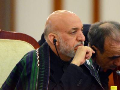 Afghanistans Präsident Karsai