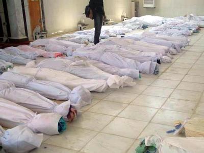 Leichen in Syrien