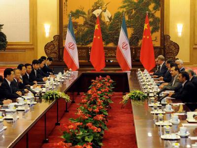 Ahmadinedschad in Peking