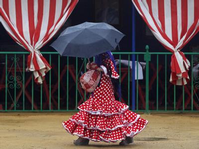 Unter dem Schirm