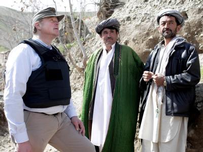 Dirk Niebel in Afghanistan