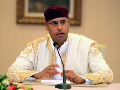 Die libysche Übergangsregierung will dem Gaddafi-Sohn Saif al-Islam im eigenen Land den Prozess machen. Foto: Sabri Elmhedwi