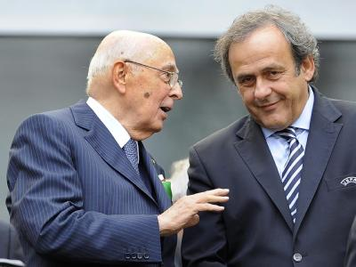 Napolitano & Platini