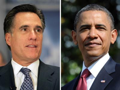 Mitt Romney und Barack Obama