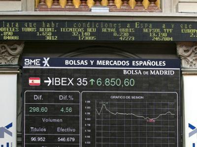 Die Anleihemärkte Spaniens und Italiens haben mit starken Kursgewinnen reagiert. Foto: Paco Campos