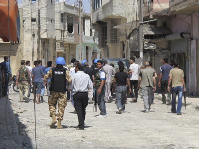 Der oberste Friedenshüter der UN sieht Syrien im Bürgerkrieg. Die USA verlieren die Geduld mit dem Friedensplan von Sondervermittler Annan. Foto: David Manyua