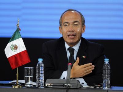 Mexikos Präsident Felipe Calderon