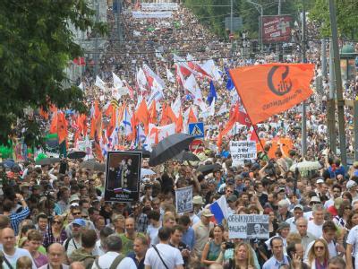 Anti-Putin Demo