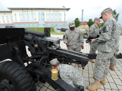 US-Armee weiht neues Europa-Hauptquartier ein