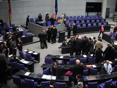 Bundestagsitzung abgebrochen