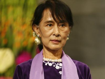 Aung San Suu Kyi in Oslo