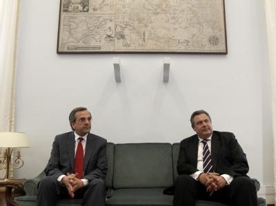 Gespräche in Athen