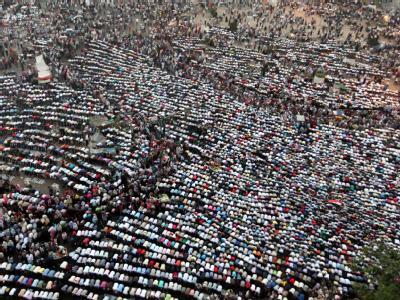 Massenprotest in Kairo
