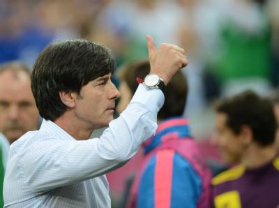 Joachim Löw wartet gespannt auf den nächsten Gegner. Foto: Andreas Gebert