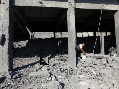 Luftschlag Gaza
