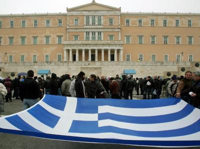 Demo gegen Sparmaßnahmen