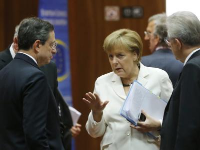 Merkel im Gespräch