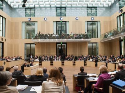 Der Bundesrat tagt in Berlin. Foto: Maurizio Gambarini/Archiv
