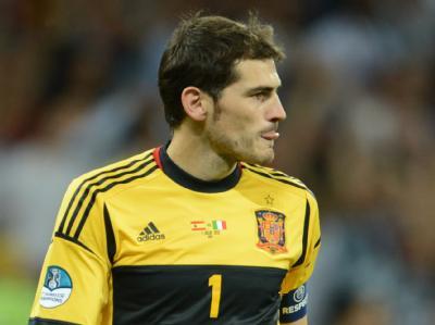 Iker Casillas erreichte als erster Fußballer die Marke von 100 Länderspiel-Siegen. Foto: Andreas Gebert