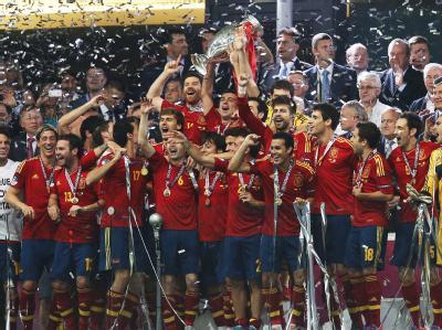 Spanien ist nicht zu stoppen. Foto: Sergey Dolzhenko UEFA
