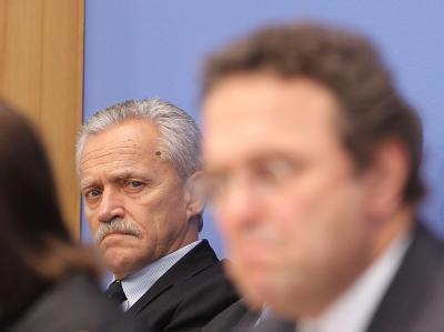 Fromm (l) und Friedrich