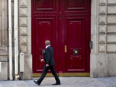Sarkozys B�ro- und Wohnr�ume in Paris