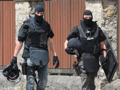 Spezialeinsatzkommandos  sind unter anderem bei Geiselnahmen, Entführungen, verdeckten Schutzmaßnahmen oder gegen Amokschützen im Einsatz. Foto: Uli Deck