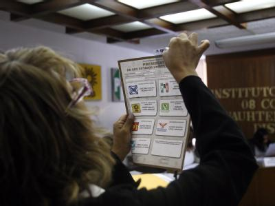 Die mexikanische Wahlbehörde hat eine Neuauszählung von 54,5 Prozent der Stimmen der Präsidenten- und Parlamentswahlen angeordnet. Foto: Alex Cruz