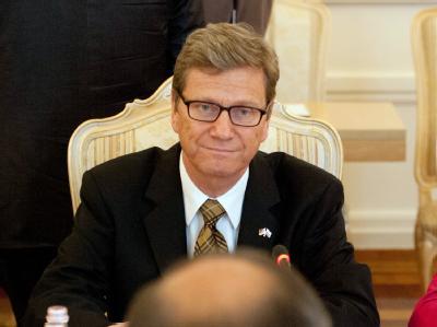 Außenminister Westerwelle hatte am Donnerstag noch einmal in Moskau vergeblich versucht, die russische Regierung zu einem Positionswechsel zu bewegen. Foto: Marc Tirl