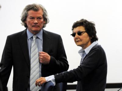 Verena Becker und Anwalt