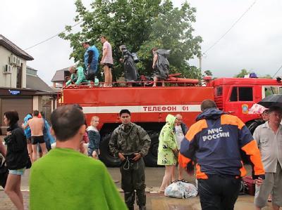Überschwemmungen in Südrussland