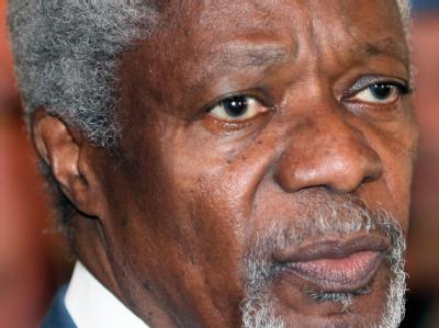 Der internationale Syrien-Vermittler Kofi Annan Foto: Youssef Badawi