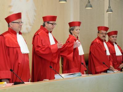 Der Präsident des Bundesverfassungsgerichts, Andreas Voßkuhle hat dafür plädiert, sich mehr Zeit bei der Entscheidung zu lassen Foto: Uli Deck