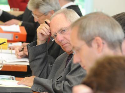 Wolfgang Schäuble beim Bundesverfassungsgericht