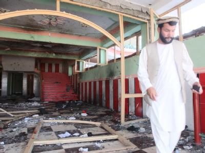 Ein Selbstmord-Attentat auf eine Hochzeitsgesellschaft hat viele Menschen in den Tod gerissen. Foto: jawed Kargad