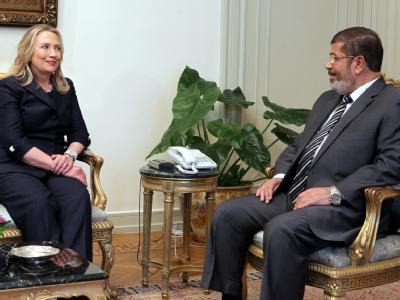 Clinton in Kairo