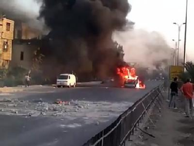 Unruhen in Damaskus