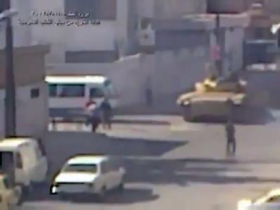 Panzer in Damaskus
