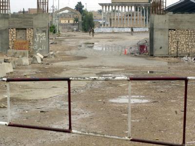 Grenz�bergang in Syrien