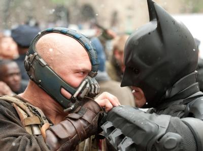 Filmszene aus dem neuen Batman-Film «The dark knight rises»  Foto: Ron Phillips/TM&DC Comics/Warner Bros. / Archiv